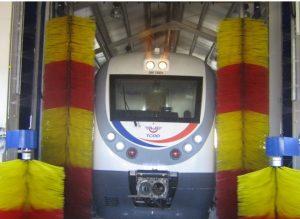 Tren Yıkama Fırçası